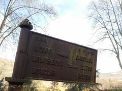Disused sign (AJ Mitchell) Tags: castiron sign roadsign disused rusty stantoninnobleval tarnetgaronne aveyron rust