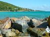 Rocks at St. Thomas coast (Lena and Igor) Tags: us usa travel virginislands stthomas island sea coast rocks ocean water clouds sunshine landscape scenic surf panasonic dmc pointandshoot