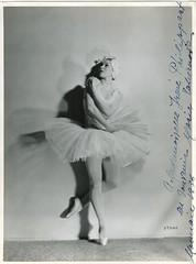TCHERNOVA, Maria, rle, Monnaie, 1938 (Operabilia) Tags: marie danse monnaie lelacdescygnes tchaikowsky mariatchernova claudepperna claudepascalperna directricedeladanse