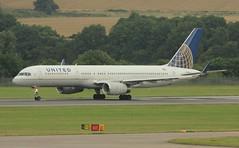 N17122 (Rob390029) Tags: scotland airport edinburgh aircraft aviation united transport jet civil transportation boeing airlines runway ual edi 757 civilian ua egph n17122