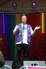 """Alan Butler introducing the Guest Speakers at Plymouth Pride 2015-1 • <a style=""""font-size:0.8em;"""" href=""""http://www.flickr.com/photos/66700933@N06/20604224426/"""" target=""""_blank"""">View on Flickr</a>"""