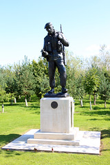 The Durham Light Infantry (NTG's pictures) Tags: light infantry memorial durham arboretum national staffordshire the