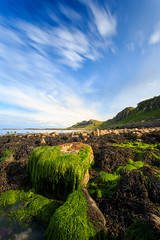 Staffin Bay - Isle of Skye Lee Big Stopper (capturedcanvas.co.uk) Tags: seaweed skye beach clouds canon lens island bay highlands big angle wide captured canvas lee colourful isle geen stopper 6d 1740l chrissmith staffin