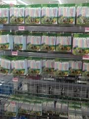 100_4369 (Amane-chan) Tags: food usa shop america japanese store texas candy box dollar pocky bento 100 snacks carrollton bentou yen pretz 100yen erasers daiso ramune carrolton candys iwako usadaiso