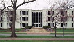 oberlin - king building 2 (Doctor Casino) Tags: ohio architecture campus university classroom 1966 architect lecture oberlin minoruyamasaki kinghall bldgtext modernformalism