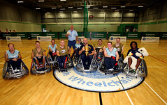 Rugby World Cup Trophy Tour - Stoke Mandeville (Steve Parsons Photography) 1