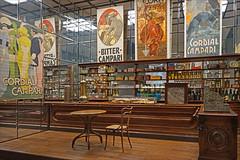 Caf milanais 1900 (Arts & Foods, Triennale de Milan) (dalbera) Tags: milan caf bar italie chaise mobilier musedudesign dalbera adolfloss artsandfoods latriennaledemilan