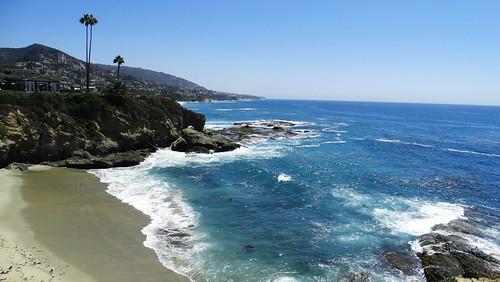 Pacific shores...