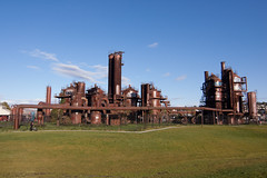 (missyleone) Tags: seattle flickr gasworks gasworkspark goldenhour seattleflickrmeetup seattleflickr stroll1509