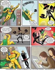 """SEO Comic with Google Guy vs Black Hat • <a style=""""font-size:0.8em;"""" href=""""http://www.flickr.com/photos/31682982@N03/21687636485/"""" target=""""_blank"""">View on Flickr</a>"""