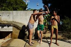 watchingTheParade (.maique.) Tags: leica portugal swim lisboa lisbon working photojournalism be leicacamera  parquedasnacoes missq leicaq typ116 legislativas2015