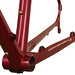 Gunnar Cycles Grand Disc in Rosewood Metallic - Chainstay Detail