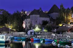 Thonon-les-Bains (joménager) Tags: 1755 afs d300s f28 hautesavoie lac lacléman light longue night nikon nuit passion portderives pose thononlesbains