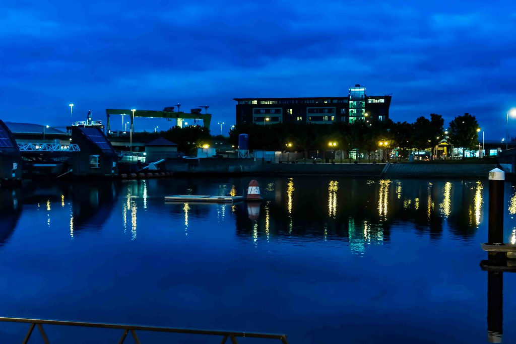 Nightview Of Belfast City September [A Very Wet Day]-108860