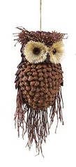 """Liked on Pinterest: pinecone animal ornaments 