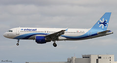 Interjet A320-200 XA-XII (birrlad) Tags: usa airplane mexico airport florida miami aircraft aviation airplanes landing international finals airline mia airbus states arrival airways approach airlines runway airliner a320 arriving a320200 interjet a320214 xaxii