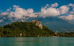lake & castle - Bled (02) (Vlado Ferenčić) Tags: landscapes lakes slovenia lakebled castlebled lakecastle nikkor182003556 nikond90 castletrakošćan castleschurches