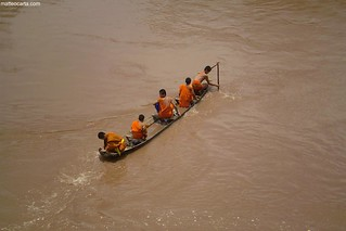 Paddling Monks