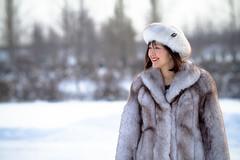 IMG_0459 (Fesapo) Tags: portrait snow cold canon edmonton furcoat alberta 7d christmaseve rosehillcemetery 135mmf2l