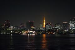 Tokyo Tower (tomogon) Tags: tokyonightcruise yakatabune sonycybershotdscrx100