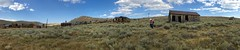 Where do ghosts go in the daytime? (Karol Franks) Tags: ghosttown bodie ca abandoned buildings historical park california easternsierras summer panorama outdoors horizontal haunted gold mining town iphone