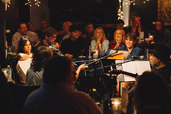In the Round with Madi Diaz, Rosi Golan, Daniel Tashian and Michelle Branch with Special Guest (Polymath & Quixotic) Tags: madidiaz danieltashian michellebranch rosigolan bluebirdcafe nashville tennesssee bluebird cafe acoustic country music session singer songrwiter september 2016