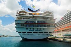 Carnival Sensation Stern (Infinity & Beyond Photography) Tags: carnival sensation cruise ship liner boat stern nassau bahamas