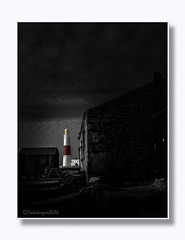 Portland Bill LightHouse BW + Hint of Colour..... (inkslinger15) Tags: bill dorset le lighthouse portland blkwhite hintofcolour