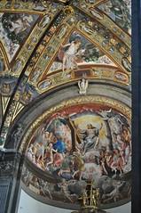 """Jugement Dernier"", 1538-1544 Girolamo Bedoli-Mazzola, choeur de la  cathdrale Santa Maria Assunta (XIIe sicle), Parme, Emilie-Romagne, Italie. (byb64) Tags: parme parma pr prma provincedeparme provinciadiparma emilieromagne emilia emiliaromagna emilie italie italy italia italien europe eu europa ue cit city citta ciudad town statd ville cathdrale cathedral catedrala duomo dom roman romanico romanesque romanesqueart artroman xiie 12th nef nave cattedrale fresques frescoes frescos fresko affreschi xvie 16th cinquecento girolamobedolimazzola bedolimazzola renaissance renacimiento rinascimento jugementdernier giudiziouniversale"