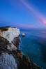 Seaford Head Sunset (KVH-P) Tags: 2016 sigma1020mm water waves wideangle eastsussex england rocks travelphotography uklandscape uk nikond7000 ocean lowlight southdowns sea seascapes sussexlandscape d7000 gitzotripod grass sky sussex sussexseascape clouds cloudsstormssunsetsandsunrises chalk cowgap beach beacheslandscapes nikon sunset