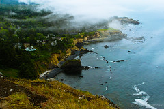 Otter Rock town (EighteenPercentGray) Tags: canon canonef24105mmf4lisusm canonef70200mmf40lusm portland oregon mt hood view nature coast otter rock town