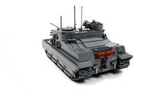 A39 Tortoise (SarielLego) Tags: tank destroyer tortoise a39 ww2