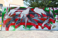 Sart @ Graffiti Day (Sart One) Tags: sart sartone graffiti writing stylewriting style hardstyle thesubwayfamily aeroes aeroescrew hs tsf art aerosol aerosolart artwork arrow black beautiful bubbles colors can darkred drips event letters fase graffitiwriting graff green grey greybackground handstyle ironlak inline piece jam kobra lettering letterscience lime leftovers loopcolors masterpiece matz mural mmxvi one painting paint pink quickpiece quick red sartgraffiti spray spraycan streetart spraycanart urban vvv white wall wildstyle wild