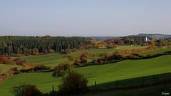 westlich Weyer (franzopitz) Tags: dorf wald wiese weide zaun kirche bsche eifel weyererwald