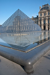 Pyramide corner (Sven Rudolf Jan) Tags: paris france louvre pyramide glass corner