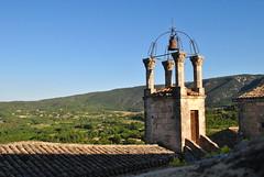 Le beffroi et son campanile. (Claudia Sc.) Tags: france provence lubron beffroi campanile cloche