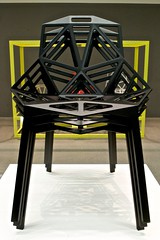 The dark side of the Sammlung (Cozla) Tags: museum sammlung design darth vader starwars imagination lines shadows ausstellung chair grcic