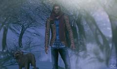 Skip~NoEdition Maverick Jacket (Skip Staheli CLOSED FOR CLIENTS) Tags: noedtion kalback kunsthimmel kunst zoom glasses dog winter skipstaheli secondlife sl avatar snow fashion
