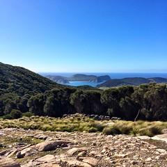 Lighthouse view. Deal Island, Kent Island Group, Bass Strait.