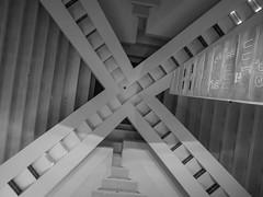 Luxor Hotel (Anthony's Olympus Adventures) Tags: luxor hotel hotelcasino lasvegas lasvegassightseeing lasvegasstrip lasvegasboulevard nv usa america angle shape triangle blackandwhite blackwhite monochrome grayscale view perspective pyramid