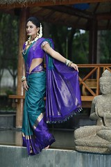South Actress Deepika Das Traditional Photos Set-1 (9)