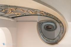 Rechtes Auge (Carismarkus) Tags: architektur berlin spirale staircase treppe treppenauge