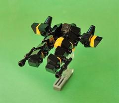 Blacktron spacecruiser - micro (adde51) Tags: adde51 lego moc vicviper nnovvember novvember microscale micro space spaceship blacktron
