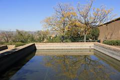 EL agua en el aljibe (Micheo) Tags: granada spain carmendelosmrtires agua water paseo walk aljibe reservoir reflejos reflections