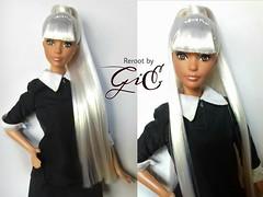 barbie look pool chic (giechi argie) Tags: barbielookpoolchic rerooted rerootbygie platinum
