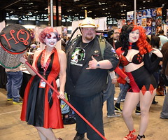 C2E2 Comic Con 2016 (Vinny Gragg) Tags: costume costumes cosplay dccomics dc harleyquinn prettygirls prettywoman sexywoman girl girls superheroes superhero comics comicbooks comicbook villian villians supervillian supervillians c2e2 comiccon chicagocomiccon comiccon2016 chicagocomicentertainmentexpo mccormickplace chicagoillinois chicago illinois ghostbuster ghostbusters