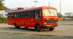 Mumbai - Chikhali (yogeshyp) Tags: msrtc st msrtcparivartanbus chikhalist
