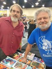 Michael Vance and me (Michael Vance1) Tags: man boy writer weird books novelist journalist historian cartoonist comicbooks comicstrip