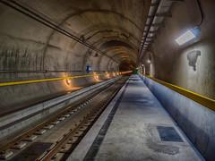GBT - Sedrun - Handyfoto (swissgoldeneagle) Tags: tunnel switzerland lumia gottardino sedrun indoor basetunnel gotthardbasistunnel 950 graubünden gotthardbasetunnel grisons graubuenden 950xl gbt graubã¼nden tujetsch schweiz ch