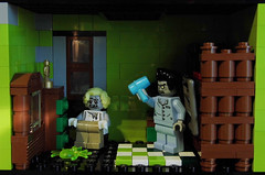 08-Modular Monster House MOC Halloween Edition Elvis and Marilyn_01 (fuggoo) Tags: zombie zombies legozombie lego moc modular monster monsters house halloween pumpkin marilyn monroe elvis presley joker ghost ghosts ghostbusters
